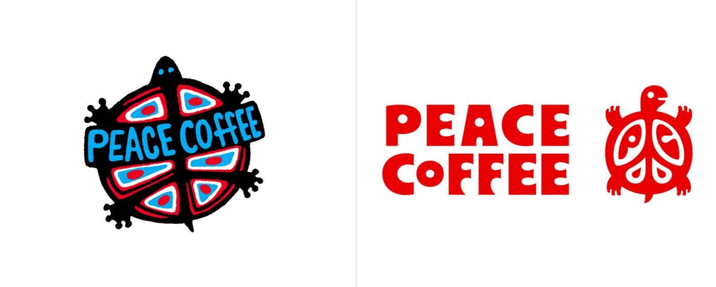 Peace Coffee logo设计
