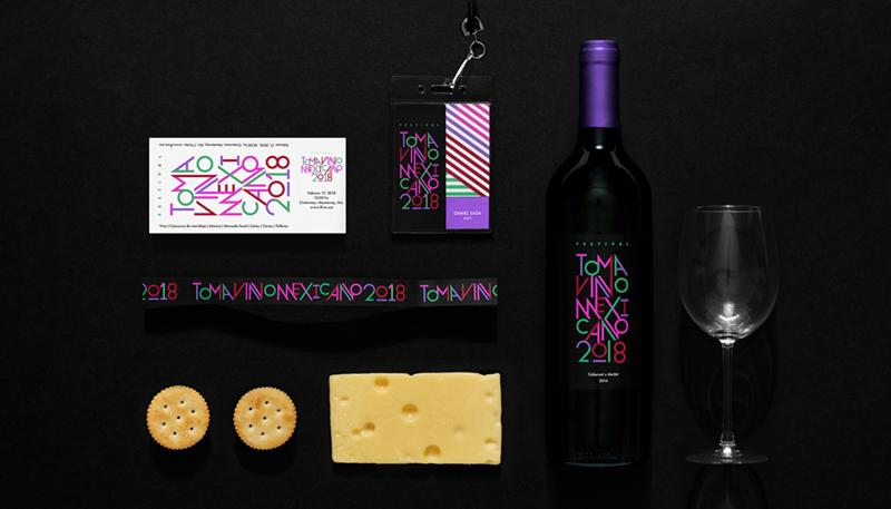 TVM墨西哥葡萄酒节日形象设计