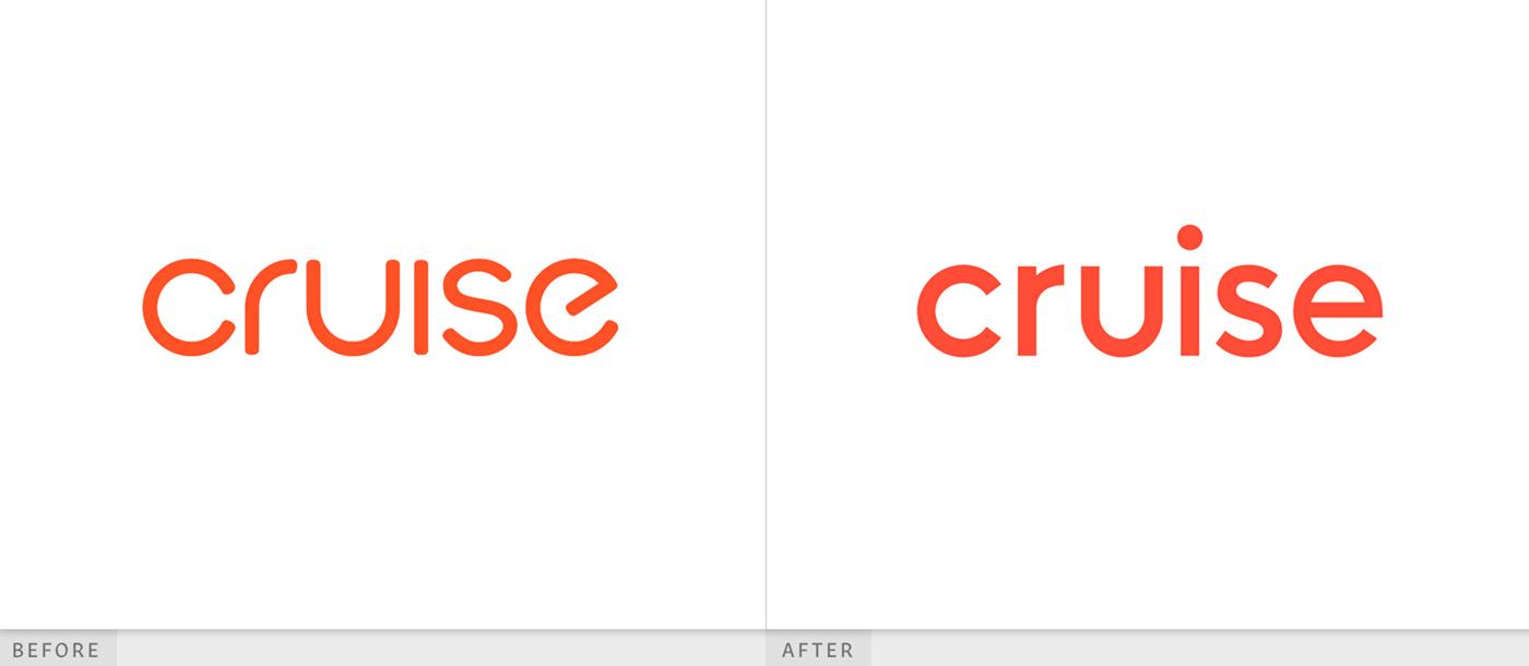 自动驾驶汽车服务品牌设计中的logo设计