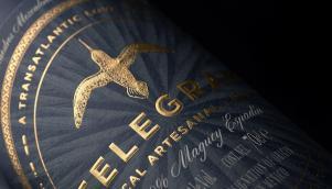 精湛的烈酒品牌形象设计中的瓶标设计