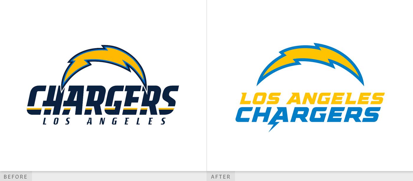美式橄榄球队品牌形象新的logo设计渊源