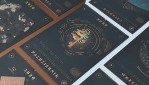 2020年国家森林品牌形象之日历设计风格