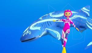 """水下冒险游戏室IP形象设计创新性的""""海洋光谱""""为主题"""