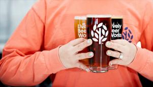 设计公司执行的微型啤酒厂品牌设计