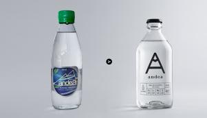 天然泉水由设计公司提供新包装设计和标志设计