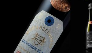 葡萄庄园葡萄酒的新包装设计和标签设计
