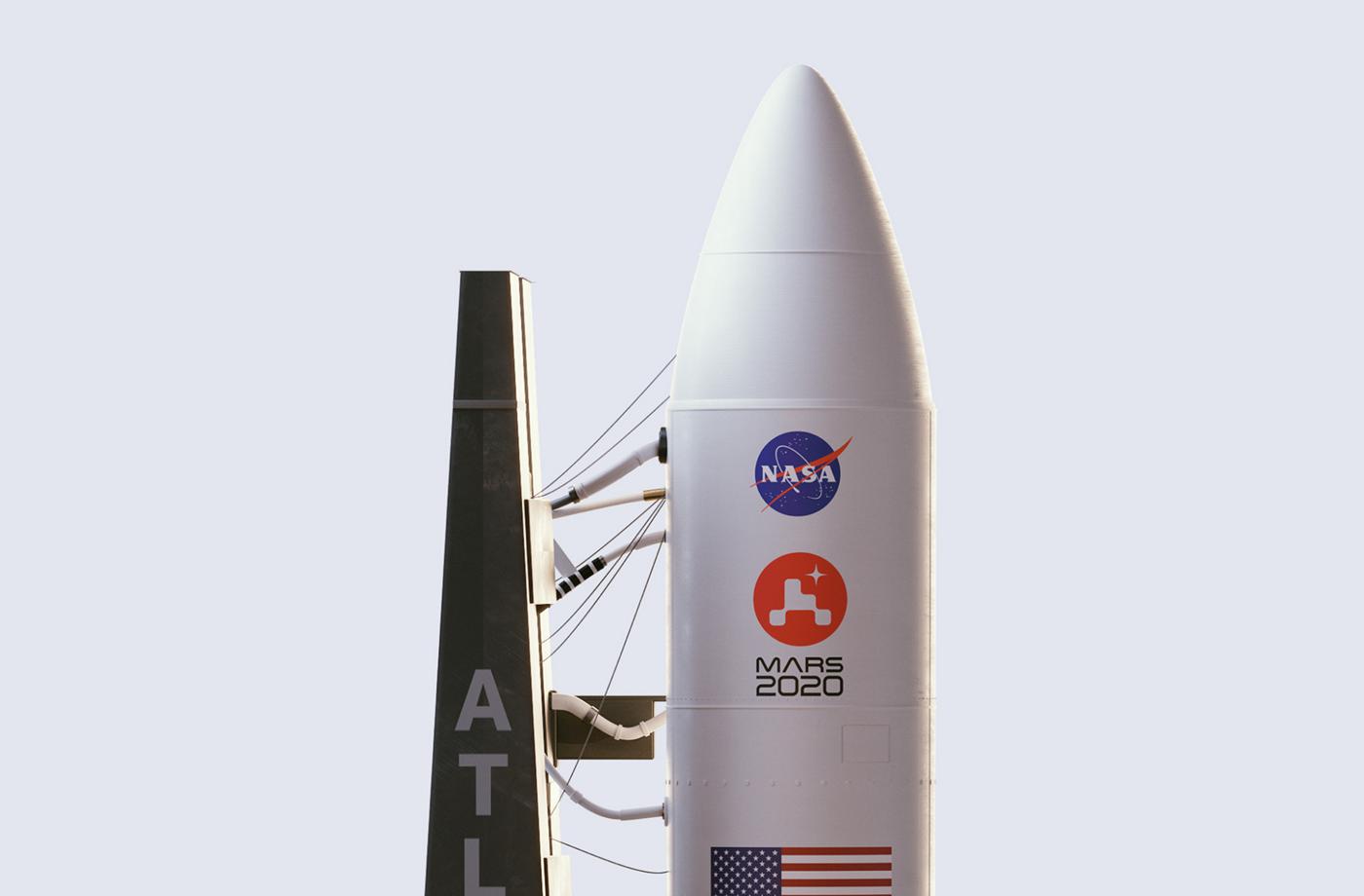 火星2020毅力号邀请知名品牌设计公司的创意团队全新设计品牌logo设计和品牌形象设计