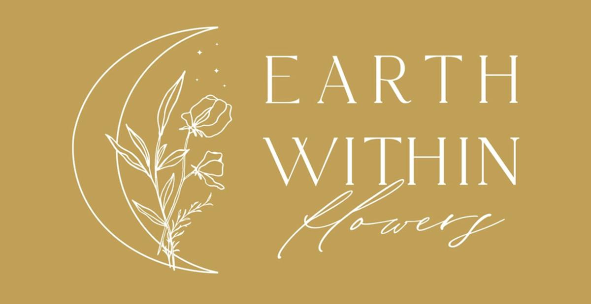花店Earth Within Flowers宣布推出其全新的标志设计和网站设计