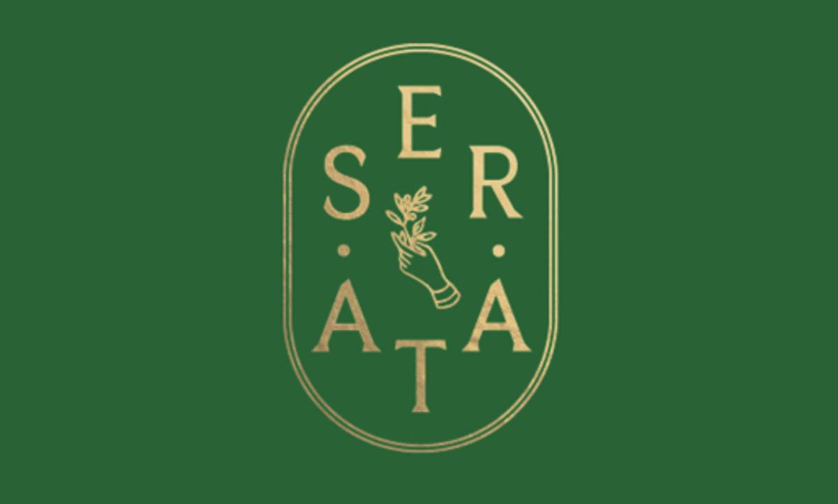 品牌设计公司为来自Albion & East餐饮集团的新餐厅Serata Hall设计了标志设计和品牌形象设计