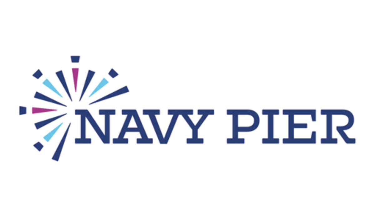 中西部地区人数最多的目的地之一的海军码头向公众透露了其新设计的品牌设计和标志设计